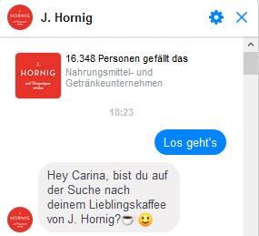 Chatbot J. Hornig