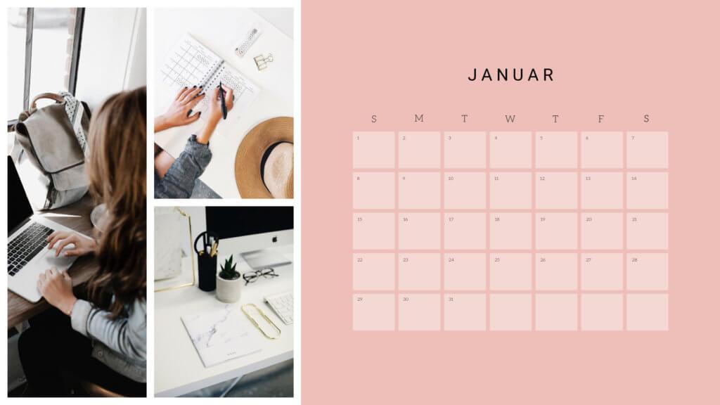 Für einen Redaktionsplan reicht schon ein einfacher Kalender