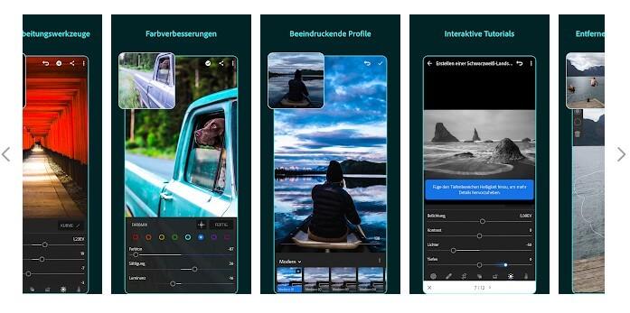 Mit Lightroom lassen sich Bilder für Social Media bearbeiten