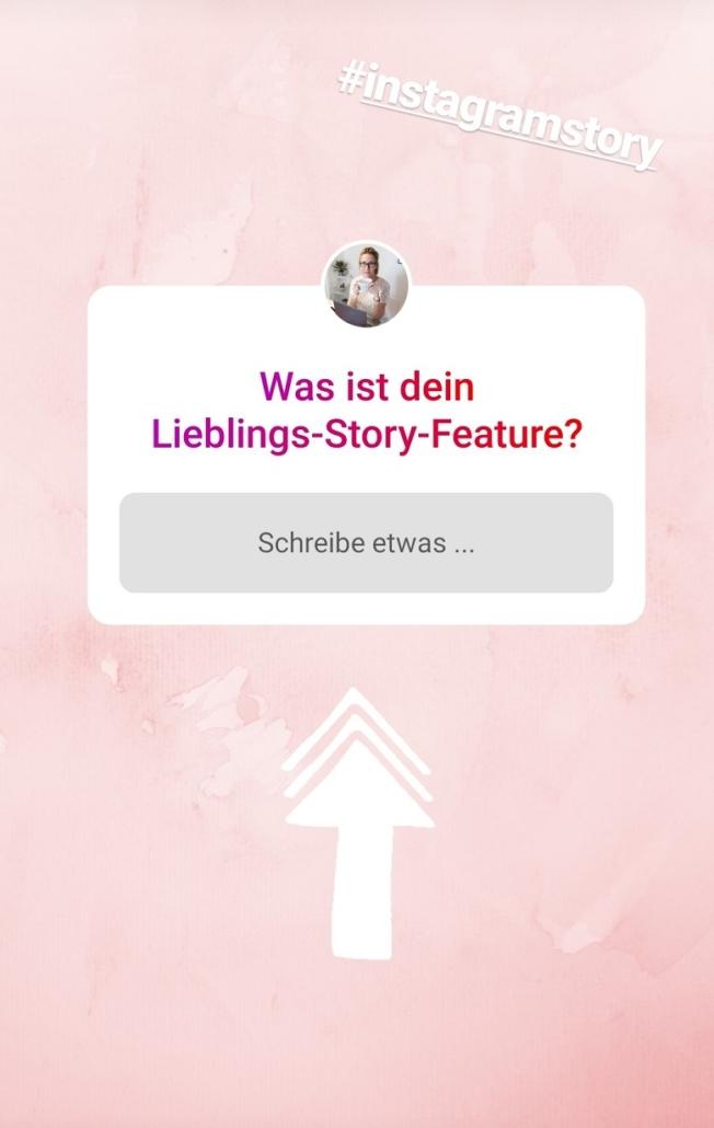 Beispiel Instagram Story