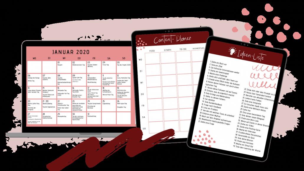 Starter-Set Contentplanung