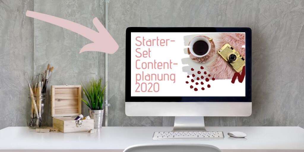 Starter-Set Contentplanung Freebie