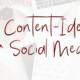 Content-Ideen Social Media