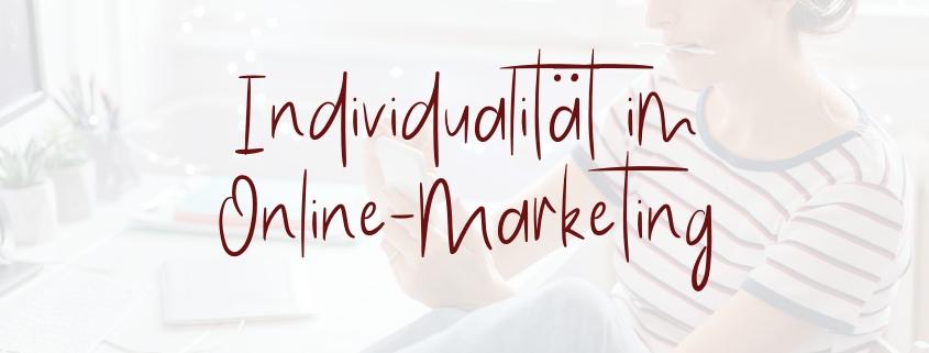 Individualität Online-Marketing