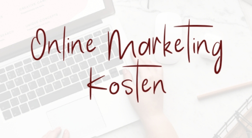 Online Marketing Kosten