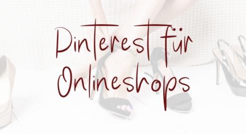 Pinterest für Onlineshops