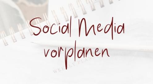 Social Media mit Later vorplanen