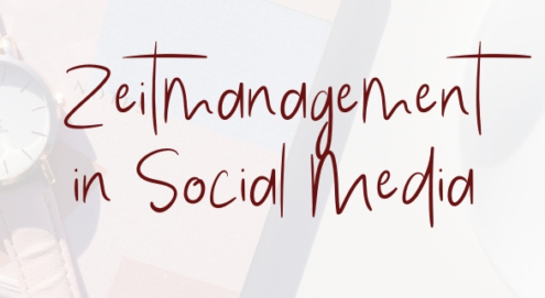 Zeitmanagement Social Media