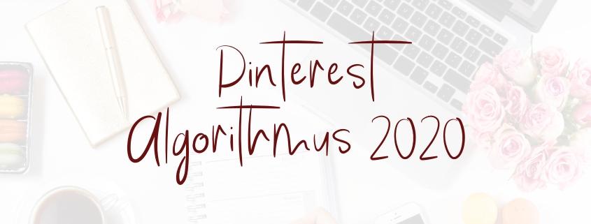 Update Pinterest Algorithmus 2020