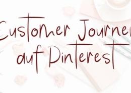 Customer Journey auf Pinterest