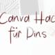 Canva Hacks für Pinterest Pins
