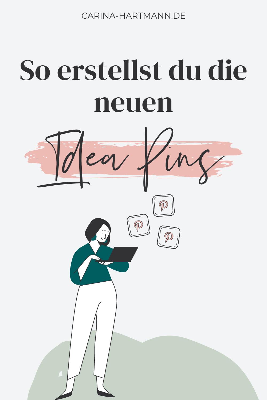 Idea Pins sind DAS Must-Have Format, um deine Pinterest Reichweite zu steigern. Hier bekommst du deine Anleitung, Tipps & Beispiele.