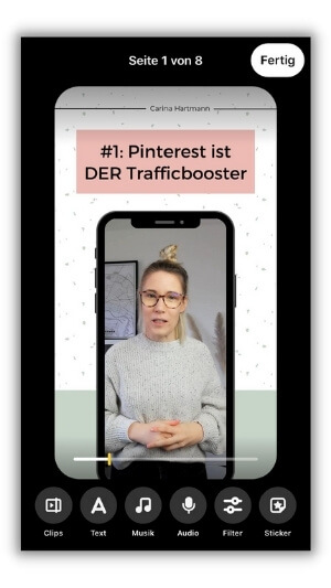 Pinterest Idea Pin erstellen