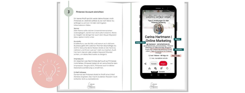E-Book Pinterest Anleitung für Anfänger