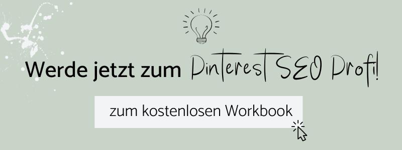 Kostenloses Pinterest SEO Workbook