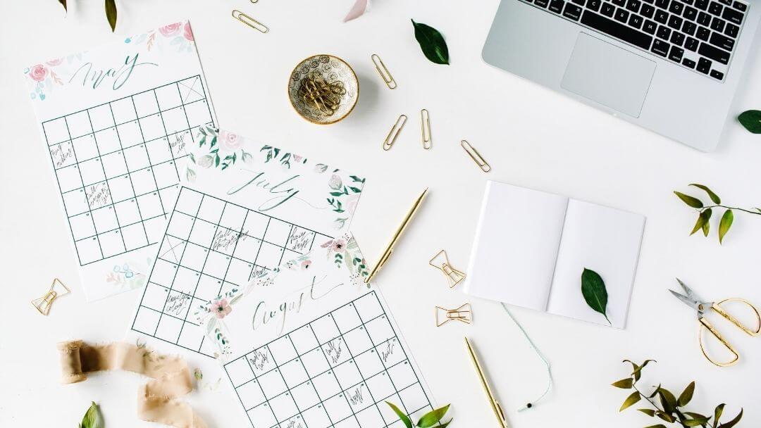 Ein Redaktionsplan hilft dir Struktur in deinen Blog zu bringen.